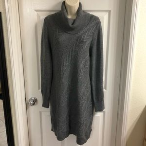 Banana Republic Heritage Cable Knit Sweater Dress